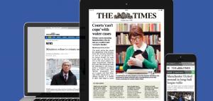 The Times втрое увеличила подписку, отказавшись от новостей