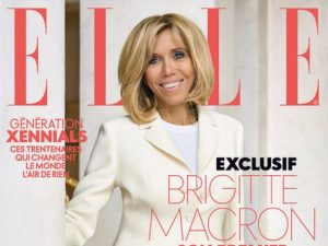 Номер журнала Elle с интервью Брижит Макрон побил рекорд продаж