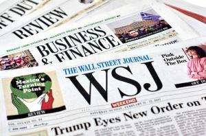 The Wall Street Journal прекращает выпуск бумажных изданий в Европе и Азии