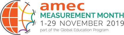Открытые международные вебинары от PRWeek, Cision, LEWIS, PRISA, под эгидой AMEC Measurement Month
