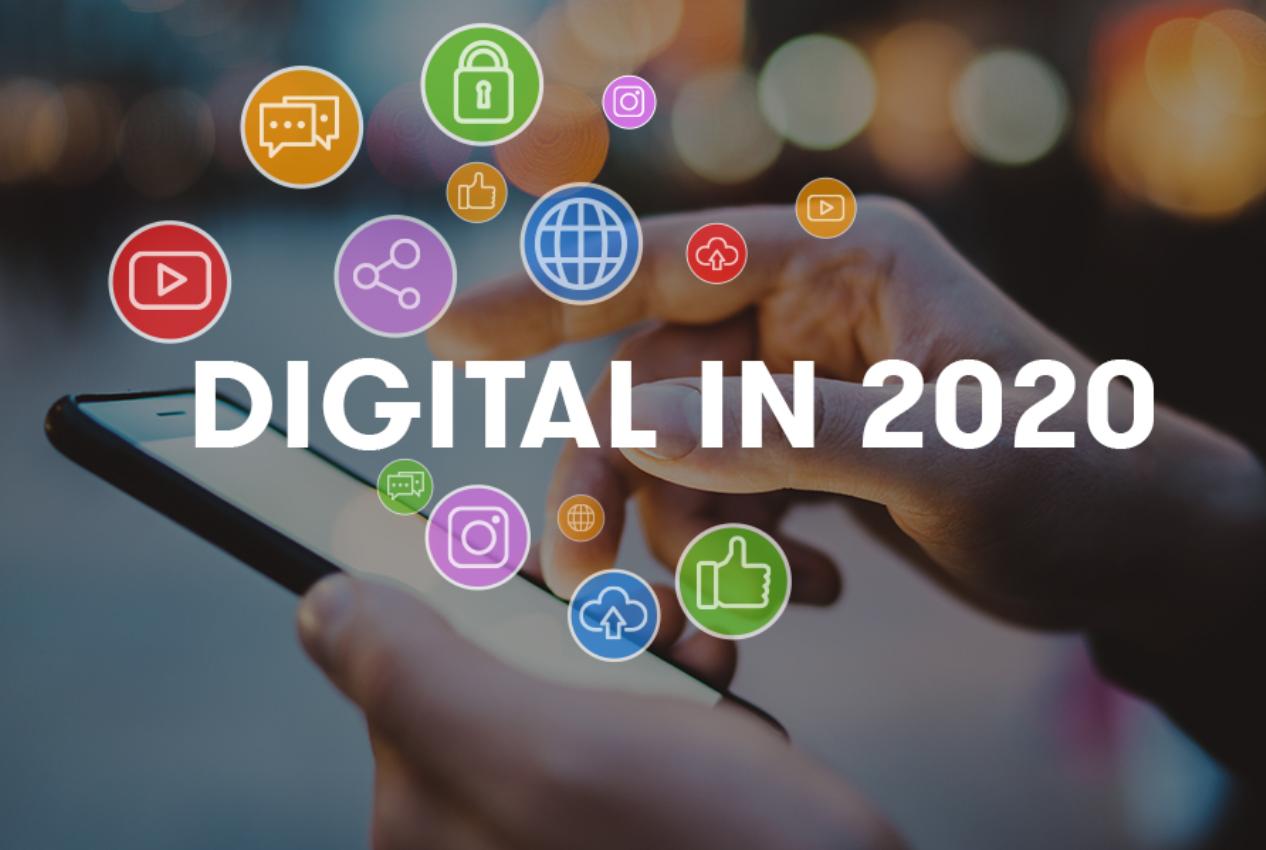 Digital 2020: ежегодное глобальное исследование от We Are Social и Hootsuite