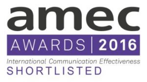 Шорт-лист AMEC AWARDS